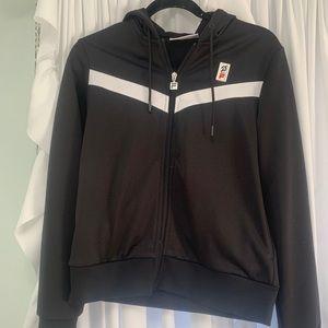 Peloton Fila zip up hoodie